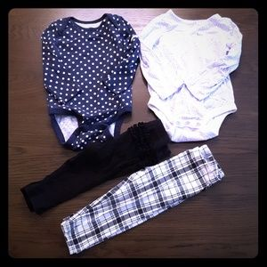 💜Bundle of 4 Toddler Girls 12-18 month Clothes💜